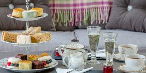 Sparkling Afternoon Tea offers a light indulgent treat