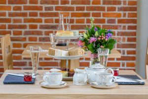 Afternoon tea, with an added sparkle of Prosecco