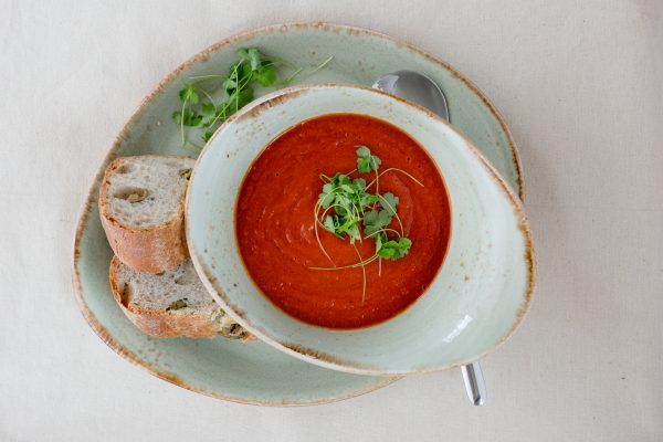 A hearty soup of the day