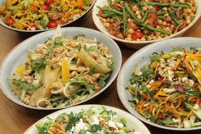 Our vibrant seasonal spring salads