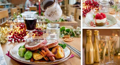 Celebrate Christmas with a Festive Lunch party at The Grange