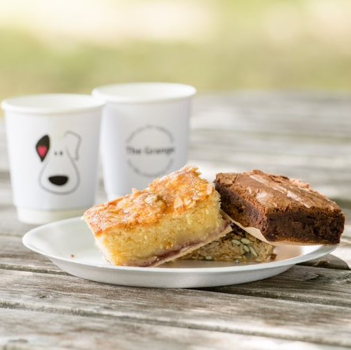 Little Grange cakes and coffee