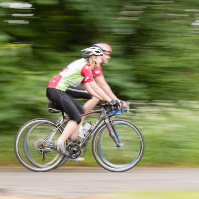 Cyclists in the Chilterns